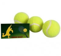 Bulk Pack 5 x Tennis Balls Bag of 3 - Yellow Photo