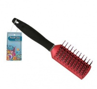 Bulk Pack 5 X Hair Brush Assorted 23cm Vent - Pink Photo
