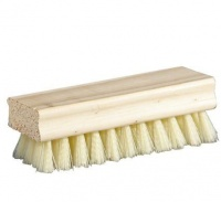 Bulk Pack 5 X Shoe Brush Wooden Back - White Photo