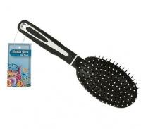 Bulk Pack 4 x Assorted 24cm Cushion Hair Brush Photo