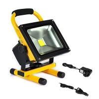 20W Rechargeable Led Flood Light With Wall And Car Chargers Photo