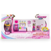 "Power Puff Girls DLX Action Playset 2"" Doll - Bedroom and Lab Photo"