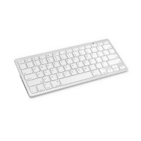 Apple Ultra-slim Wireless 3.0 Bluetooth Keyboard For PCs Series & Android Devices - White Photo