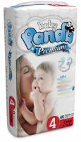 Baby Panda - 46 Premium Nappies - Size 4 - Large Photo