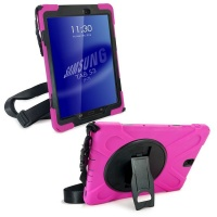 Tuff Luv Tuff-Luv Armour Jack Case and Stand for Samsung Galaxy Tab S3 - Red Photo
