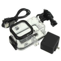 Action Mounts Housing & Backup Battery for GoPro Session 4 Photo