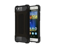 Shockproof Armor Hard Protective Case For Huawei P8 Lite - Gold Photo