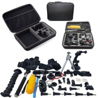 Xtreme 55-in-1 Accessories Starter Kit for Gopro Hero 7 6 5 4 3 Cameras Photo