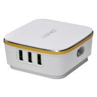 LDNIO A6704 6 USB 5V / 7.0A 2.0 Quick Charge Desktop USB Charger - White Photo