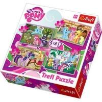 My Little Pony Trefle 4-In-1 Puzzle Photo