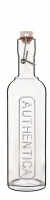 Luigi Bormioli - 500ml Authentica Glass Bottle With Airtight Closure Photo