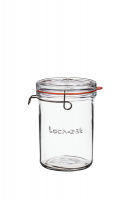 Luigi Bormioli - 1 Litre Lock-Eat Glass Food Jar With Lid Photo
