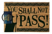 Lord Of The Rings - You Shall Not Pass Door Mat Photo