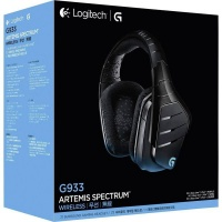 Logitech : G933 Artemis Spectrum Wireless 7.1 Surround Gaming Headset Photo