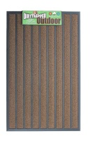 Dirttrapper Outdoor Doormat 120cm x 80cm - Brown Photo
