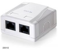 Equip Cat5e UTP 2-Port Wallbox Photo