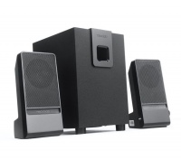 "MICROLAB M100 2 2.1"" Speaker- Black Photo"