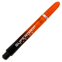 Harrows Supergrip Fusion Black/Orange Darts Shaft 10 Pack - Short 2BA Photo
