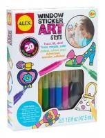 ALEX Window Sticker Art - Glam Photo
