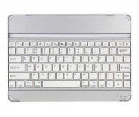 Bluetooth Keyboard & Stand for iPad 5/6 & Air - Silver & Black Photo