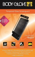 Nokia Body Glove Tempered Glass Protector for 6 - Black Cellphone Cellphone Photo