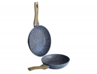 Berlinger Haus 2-Piece Marble Coating Forest Line Fry Pan Set - Light Wood Photo