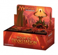 Magic The Gathering : Hour of Devastation Booster Photo