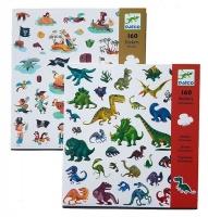 Djeco Dinosaurs & Pirates Stickers Photo