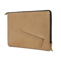"Sahara Decoded Leather Slim Sleeve for Macbook Pro 13"" 2016 - Photo"