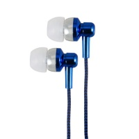 Astrum Electro Painted Earphone with In-Wire Mic - Blue Photo