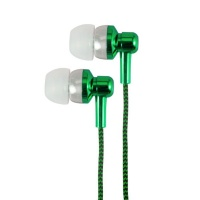 Astrum Electro Painted Earphone with In-Wire Mic - Green Photo