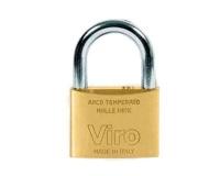 Viro Brass 25mm Keyed Alike Padlock Photo