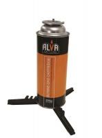 Alva Butane Gas Cartridge Base - Black Photo