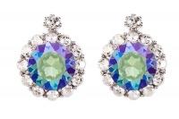 Civetta Spark Brilliance Earrings Swarovksi Crystal In Paradise Shine Photo