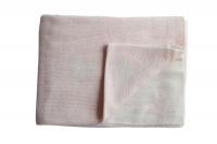Little Love Reversible Swiss Cross Blanket - Blush Photo