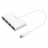 Macally USB-C to 4 Port USB-A Hub Photo