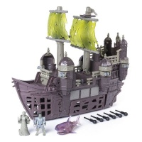 Pirates of the Caribbean Pirates Of Caribbean Silent Mary Pirate Ship Playset Photo
