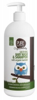 Pure Beginnings - Soothing Baby Wash and Shampoo with Organic Baobab - White Photo