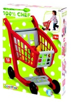Ecoiffier 100 Chef Ecoiffier 100% Chef Filled Supermarket Trolley Photo
