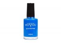 MoYou Blue Nail Lacquer Photo