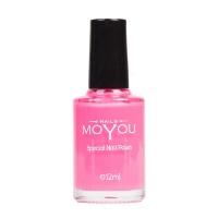 MoYou Pink Nail Lacquer Photo