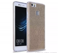 Bling Sparkle Glitter Slim TPU Back Cover for Huawei P10 Lite - Gold Photo