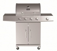 Alva - Kalahari 4 Burner Gas BBQ with Side Burner Photo