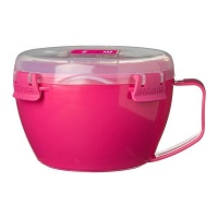 Sistema - Noodle Bowl To Go - Pink Photo