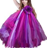 Snow White Girls Rainbow Custom Halter Tutu - Purple Photo