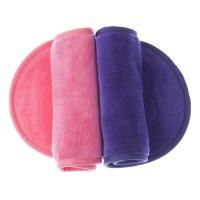 Wonder Towel Makeup Eraser Cloth Pack of 2 - Pink & Purple Photo