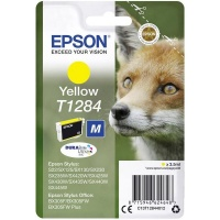 Epson T1284 Yellow Ink Cartridge Photo