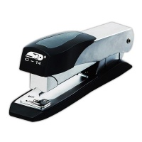 STD C14 Metal Semi Heavy Duty Front -Loading Stapler Half Strip - 40 Sheets Photo