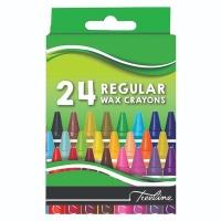 Treeline Wax Crayons Regular 24 Piece Photo