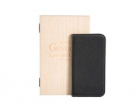 X-ONE Luxurious Genuine Deer Leather Cover for iPhone 6 Plus - Black Photo